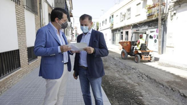Bellido subraya que el Ayuntamiento tiene en marcha 20 obras en todos los distritos por 3,3 millones