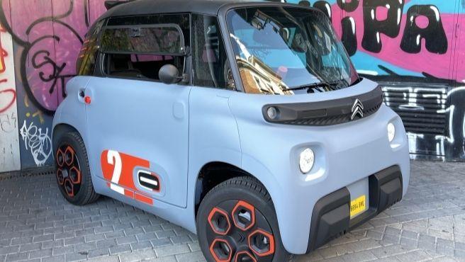 No es una tostadora gigante, se trata de AMI, el nuevo coche de Citroën que te llega a casa como un paquete de Amazon