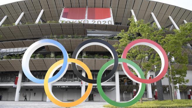 El Estadio Nacional de Tokio, sede principal de los Juegos.