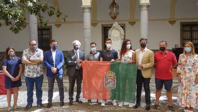 Granada despide a los deportistas olímpicos que van a competir en los Juegos de Tokio 2021