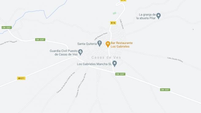 Muere un hombre calcinado mientras intentaba apagar el incendio de su vehículo en Casas de Ves (Albacete)