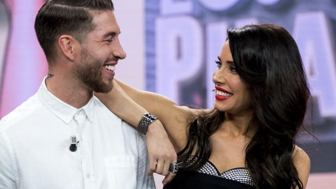 Sergio Ramos y Pilar Rubio.