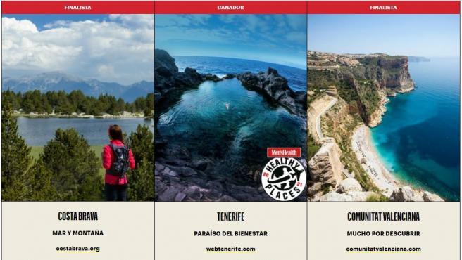Tenerife, mejor destino nacional saludable según los lectores de 'Men's Health'