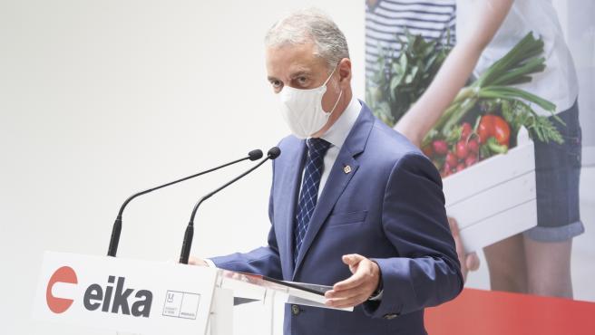Urkullu pide a Sánchez por carta que obligue a usar mascarilla y dote de medidas para limitar la movilidad nocturna