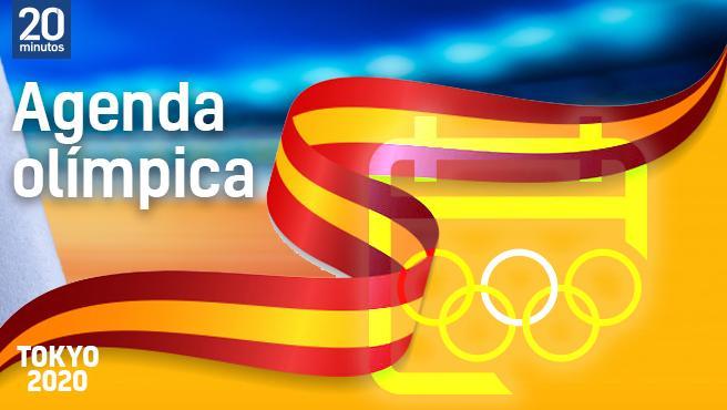 La Agenda completa de los Juegos Olímpicos.