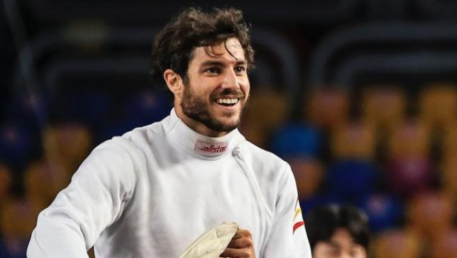 Aleix Heredia, el atleta de pentatlón moderno que participará en los Juegos Olímpicos.