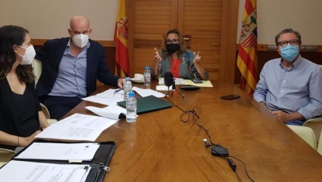 Aragón, Castilla-La Mancha y Castilla y León estudian ayudas europeas contra la despoblación en Cuenca, Teruel y Soria
