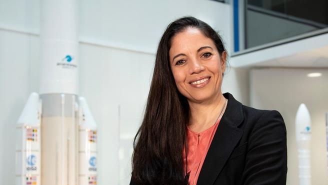 Beatriz Romero, ingeniera aeronáutica y directora de proyecto de los servicios de lanzamiento del James Webb en Arianespace.