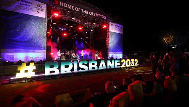 Brisbane celebra su elección como sede de los Juegos Olímpicos 2032.