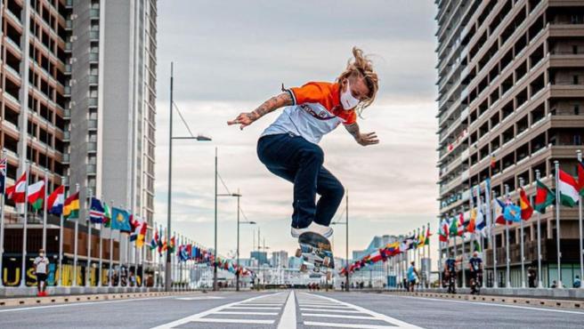 La skater holandesa Candy Jacobs.