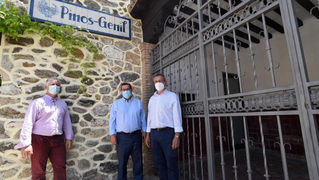 Diputación mejora la seguridad en la carretera que une Güéjar Sierra y Pinos Genil
