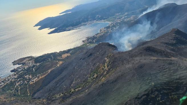 El Govern calcula que el Cap de Creus (Girona) se regenerará en 4 años tras el incendio