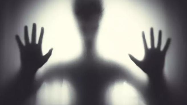 """La pareja informaba de que, al principio, solo eran """"sombras negras""""."""