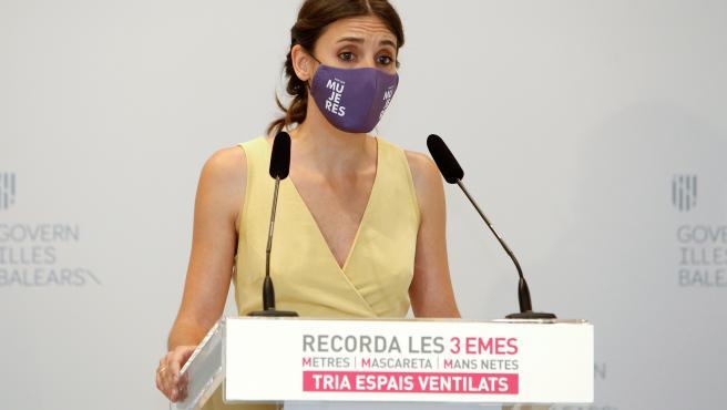 """Irene Montero ve en el caso de Juana Rivas un ejemplo de """"maltrato institucional y judicial"""""""