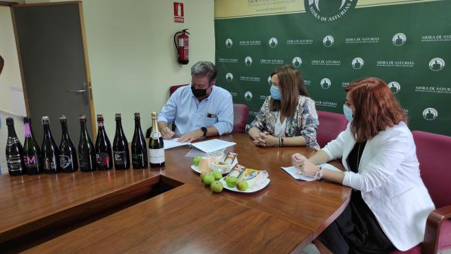La DOP Sidra de Asturias se adhiere al International Cheese Festival y contará con su propio Cider LAB