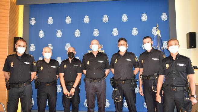 La plantilla de la Comisaría Provincial de Valladolid incorpora cinco inspectores en prácticas