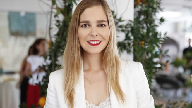 Natalia Sánchez en un evento en Madrid.