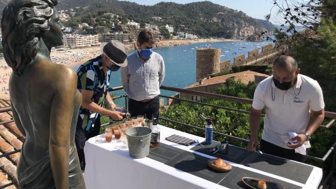 Tossa (Girona) celebra con actividades los 70 años del estreno de 'Pandora y el holandés errante'