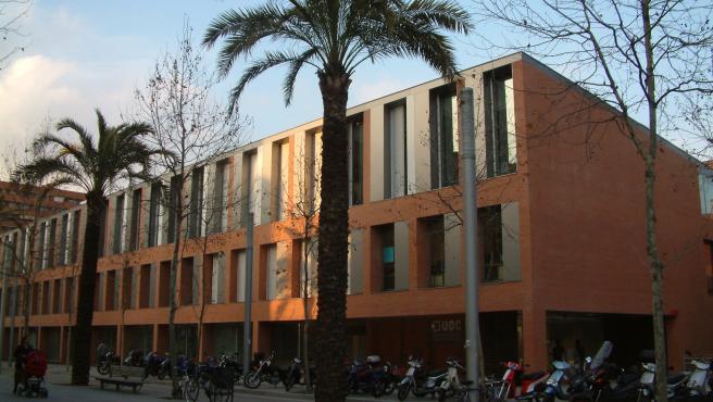 Una de las sedes de la UOC en Barcelona.