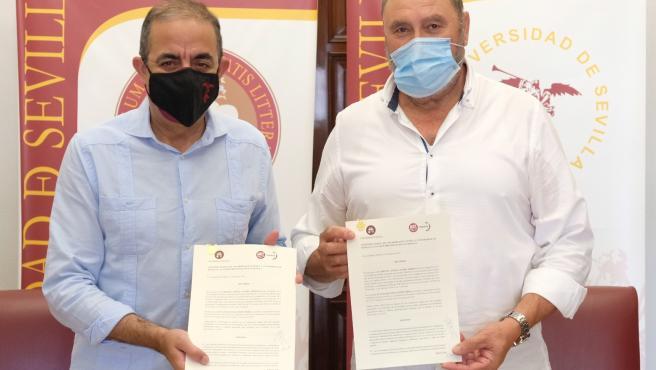US y UGT colaboran para mejorar la inserción laboral de los egresados