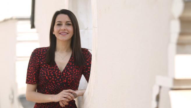 La líder de Ciudadanos, Inés Arrimadas, en la entrevista con 20 minutos.
