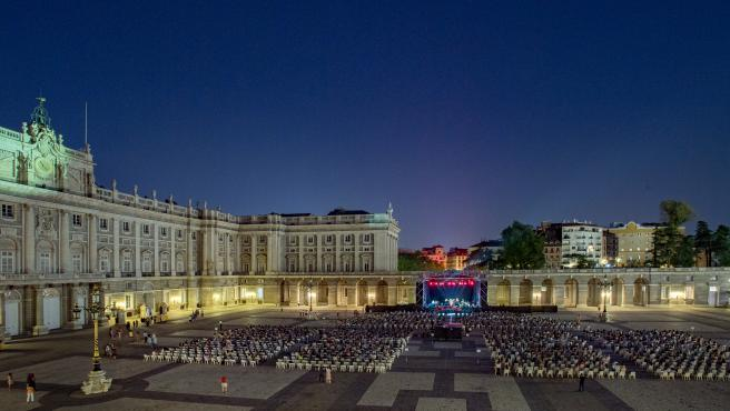 Concierto en el Patio de la Armería del Palacio Real