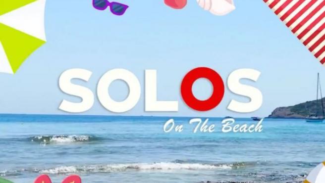 Cartel promocional de 'Solos on the beach'.