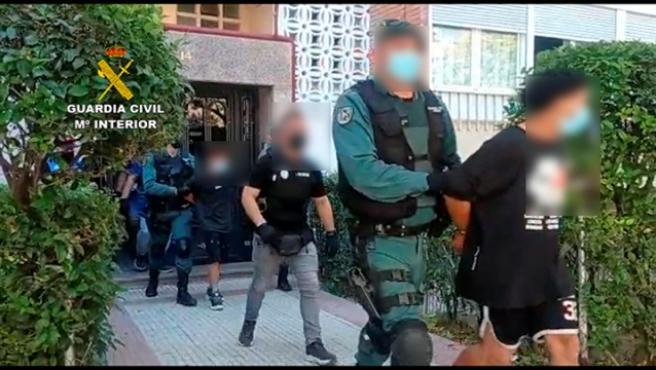 Detenidos varios miembros de una banda latina en el Corredor del Henares.