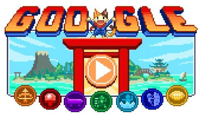 Doodle de Google dedicado a Tokyo 2020.