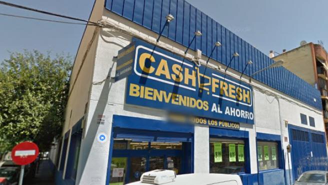 Imagen de archivo del supermercado de Sevilla.