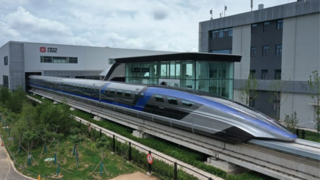 Maglev puede alcanzar los 600 km/h.