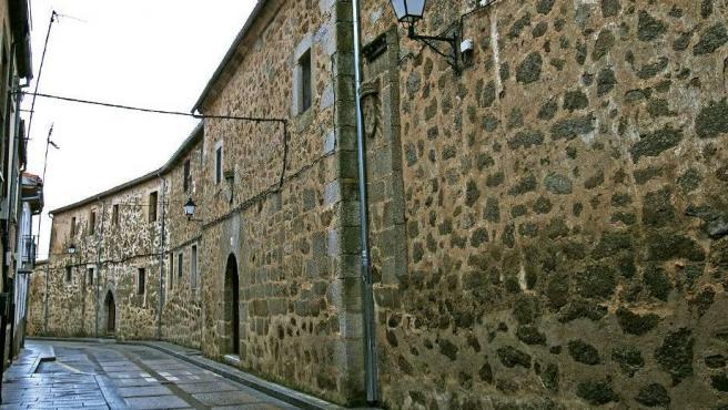 Casonas de piedra de Piedrahíta, en Ávila.