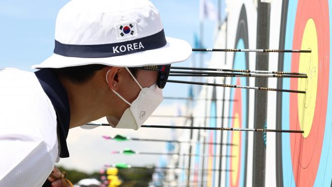 Sa An bate el récord olímpico de tiro con arco