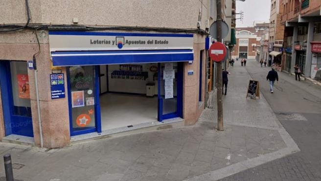 Imagen de la administración de loterías número 19 de Santa Coloma de Gramenet.