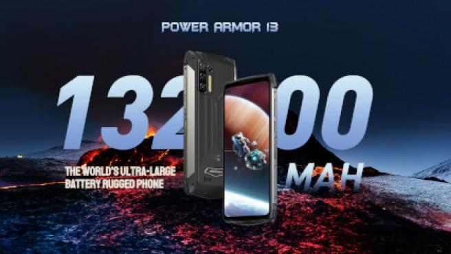 Ulefone asegura que el Power Armor 13 es el rugerizado con mayor batería