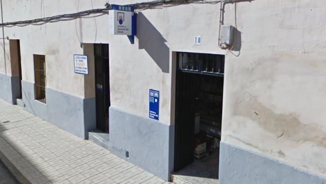 Despacho receptor 8.405 de Alcochel, Badajoz.