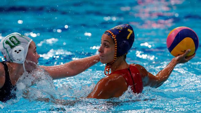 España vs. Sudáfrica en waterpolo