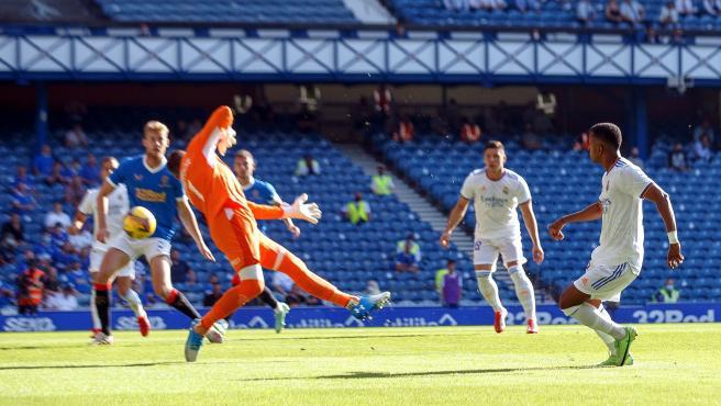 El Real Madrid empieza la pretemporada perdiendo contra el Rangers