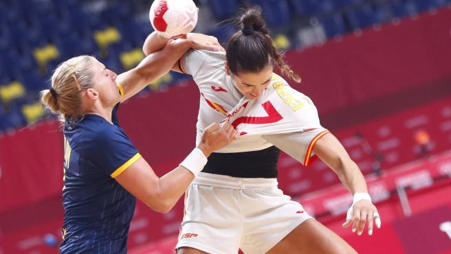 España cae contra Suecia en su debut en los JJ OO