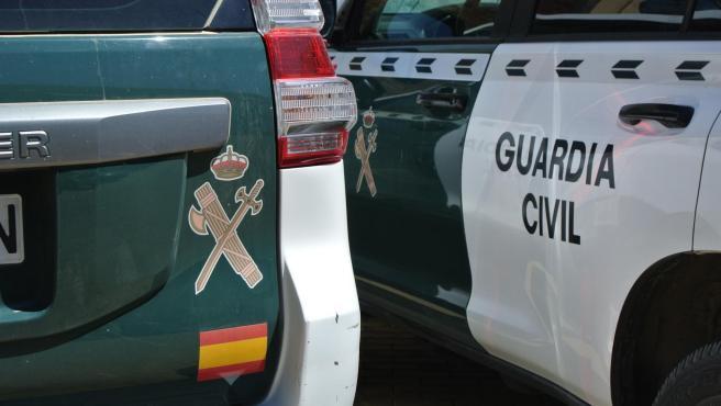 Imagen de archivo de vehículos de la Guardia Civil.