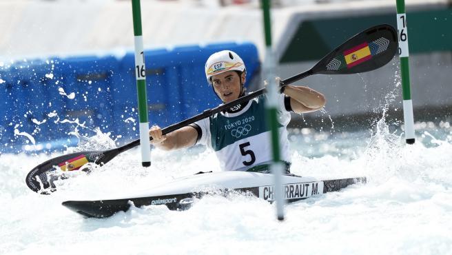 Maialen Chourraut se mete en semifinales de eslalon en K1.