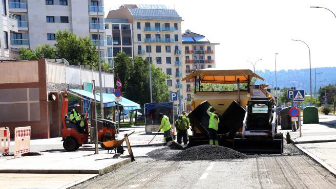 Avanza a buen ritmo el Plan de Asfaltado en las 82 calles previstas de la ciudad de León
