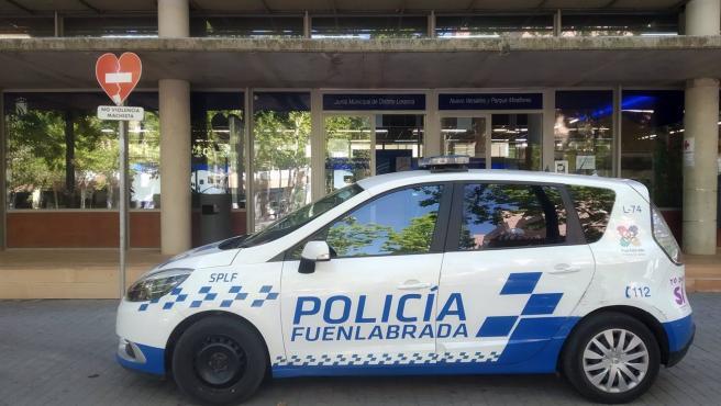 Coche de la Policía Local de Fuenlabrada.
