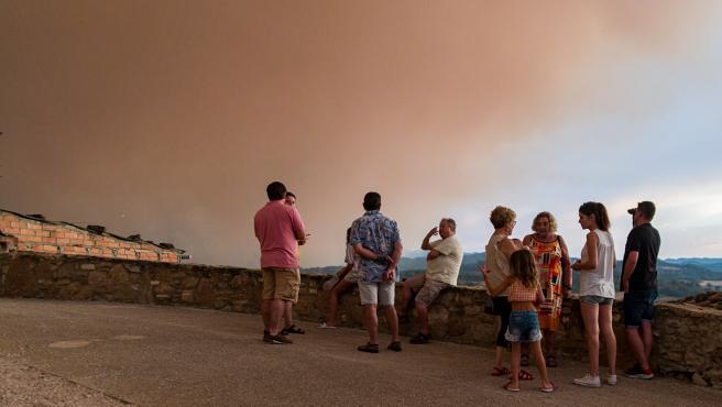 Desconfinan dos municipios afectados por el fuego en Santa Coloma de Queralt (Tarragona)