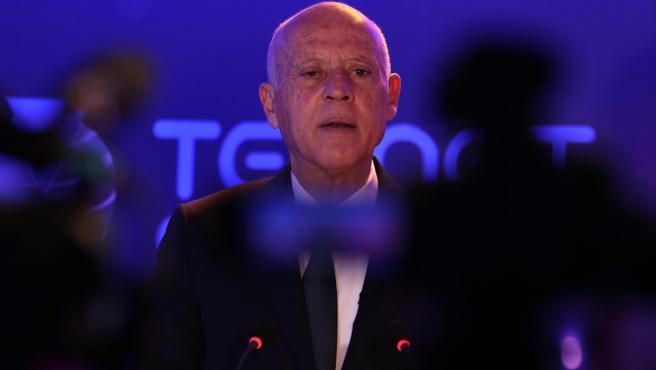 El presidente de Túnez, Kais Said.