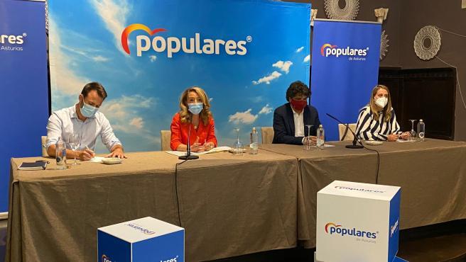 """Mallada (PP) avanza una """"ofensiva desde Asturias y el Congreso"""" para """"obligar"""" al Gobierno a acabar la A-63"""