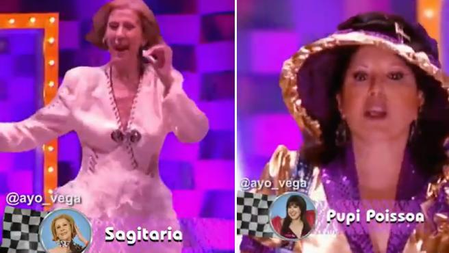 Marisa y Paloma en la parodia de 'Drag Race España'.
