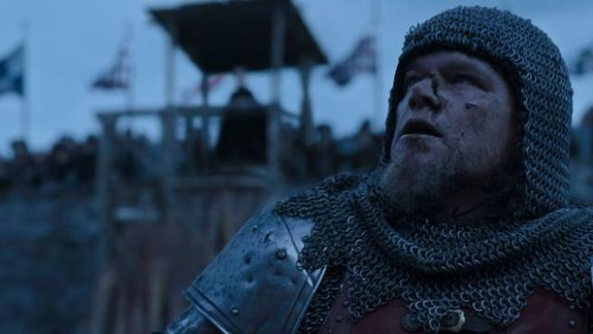 Matt Damon en 'Duelo final', de Ridley Scott.