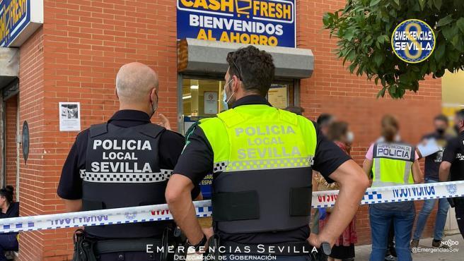 Sucesos.- La Policía entrega al juzgado su atestado del atraco de Amate saldado con un asaltante muerto