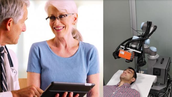 """Tecnología fotónica, robots, inteligencia artificial y apps, 'claves' en la """"detección precoz"""" de enfermedades"""